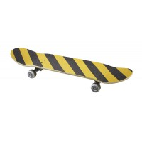 Black and Yellow Striped Griptape