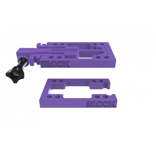BLOCK Risers GoPro Purple