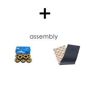 Bearings Grip tape and Assembly