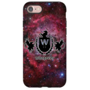 iPhone 7 Whatever Skateboards Red Galaxy Phone Case