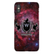 iPhone X Whatever Skateboards Red Galaxy Phone Case