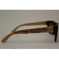 Wood Sunglasses - Pirate