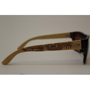 Wood Sunglasses - Pirate