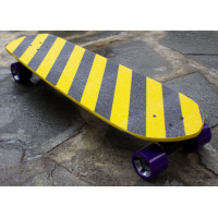 Chris Yandall Samoan Warrior Skate Legend Board (35 x 9.5)