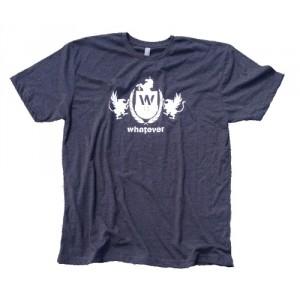 Whatever Skateboards Men's Grey T-Shirt