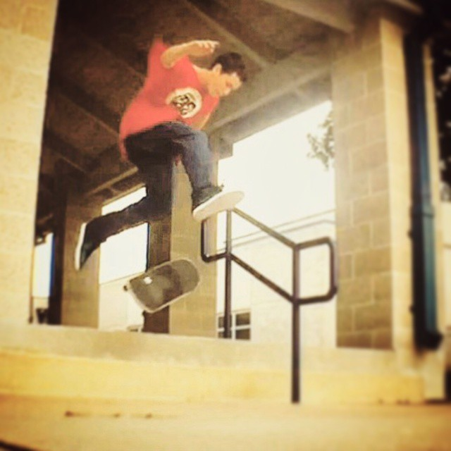 Tre flip off the stairs by @david.keever_  thanks for the tag! #skateboard #skateboarding #skate #sk8 #skatelife #skateordie #repost #skateeverydamnday #skateeveryday #sk8ord13 #skater #skateboardingisfun #tagforrepost #skaterepost #sk8ordie #skateboardtricks #treflip #fanposts #whatever #whateverskateboards