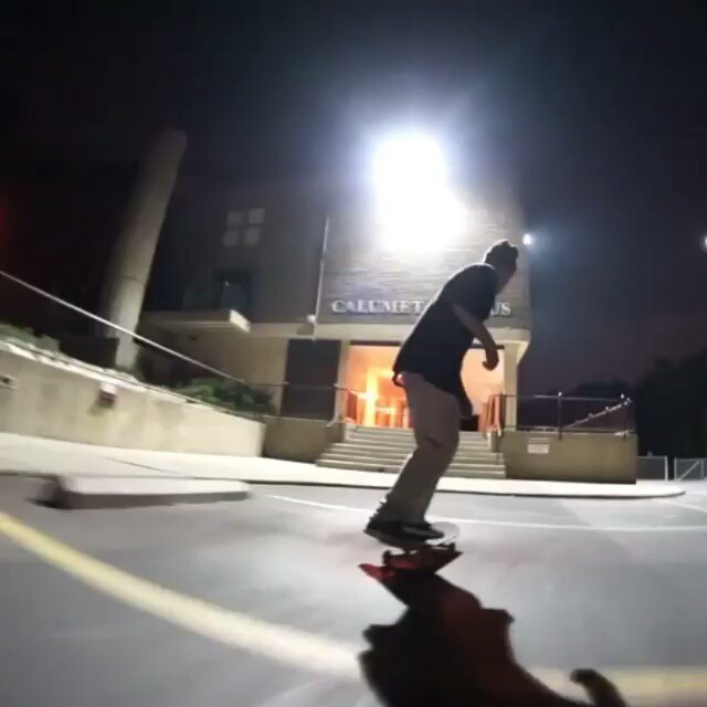 Dragon flip to manual.  @pushblocks with a solid *#trickoftheyear entry  say whaa #skateboard #skateboarding #fliptricks #kickflips # #skatelife #sk8 #manual #trickoftheday #saywhat #sk8tricks #skateclips #metrogrammed  #whateverskateboards