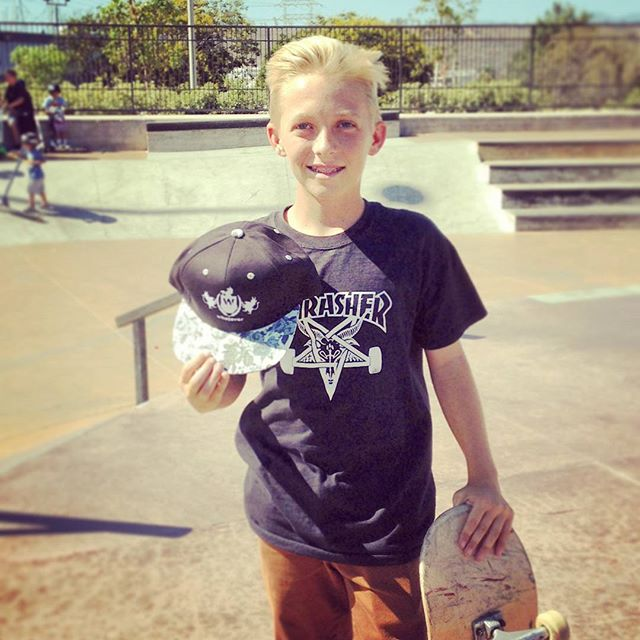 Congrats to @chrislafrance3 for winning a new Whatever Skateboards limited edition grey flowerpint brim snapback at today's best trick contest at Santa Clarita skatepark #killingit with some mean kickflips down 6!! Thanks to whatever street team homie @rayjisuplee for spreading the  #winning #skateboarding #skateboardingisfun #skateeverydamnday #skateboard #skate #sk8 #skatelife #skateordie #sk8ordie #skatepark #shred #skatecontest #kickflip #ftw #snapback #flowerprint #skater #winner #win #freehat #svcskatepark #santaclarita #santaclaritaskatepark #whatever #whateverskateboards