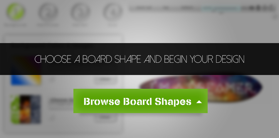Start Your Custom Skateboard: Choose a Deck Shape to Begin!