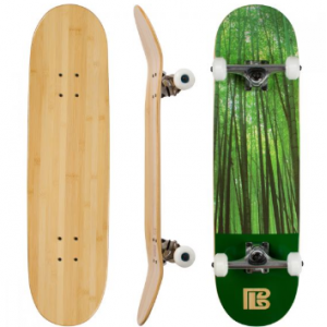 Forest Graphic Bamboo Skateboard