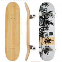 Moso Graphic Bamboo Skateboard
