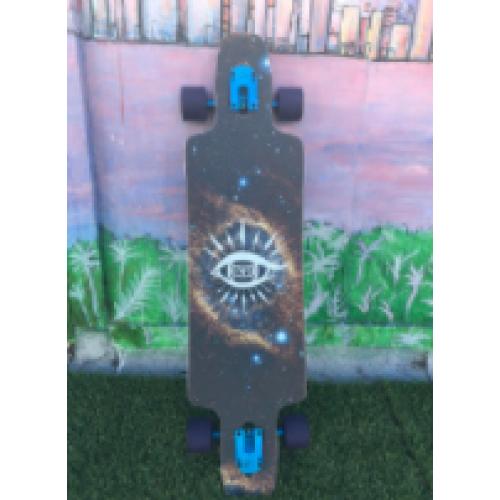 Custom Longboard Griptape (11x45 in ) - Whatever Skateboards