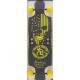 Beercan Boards- Hard Cider Yellow Patriot Skull