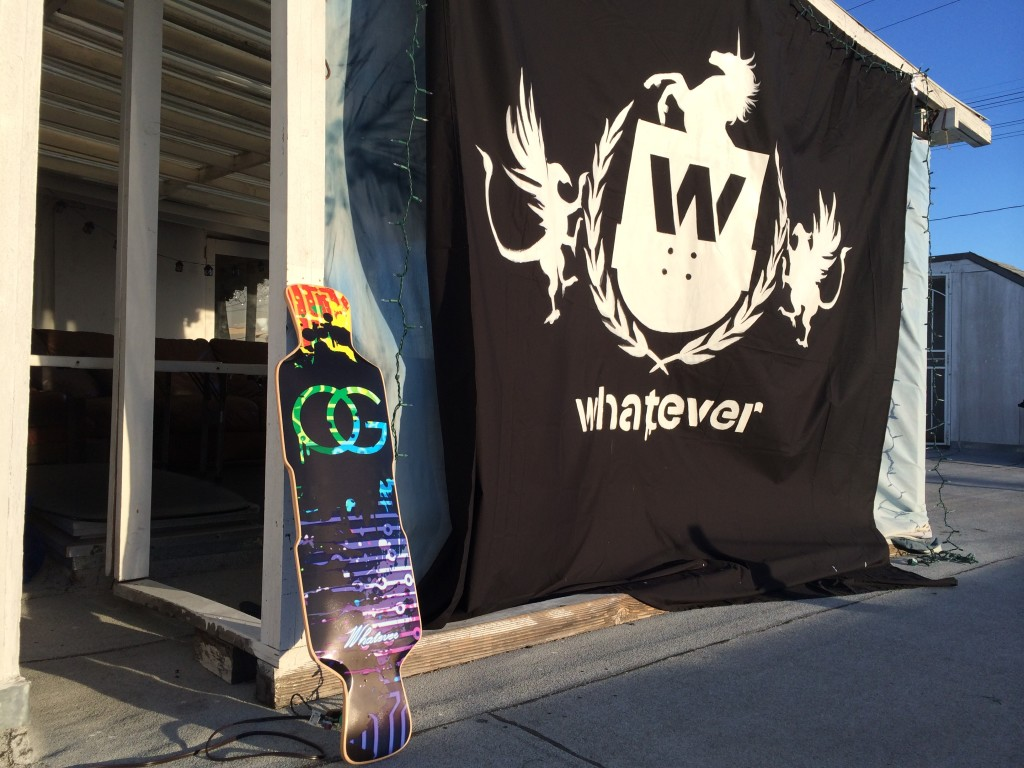 Custom Whatever Longboard (Perfecto 39)