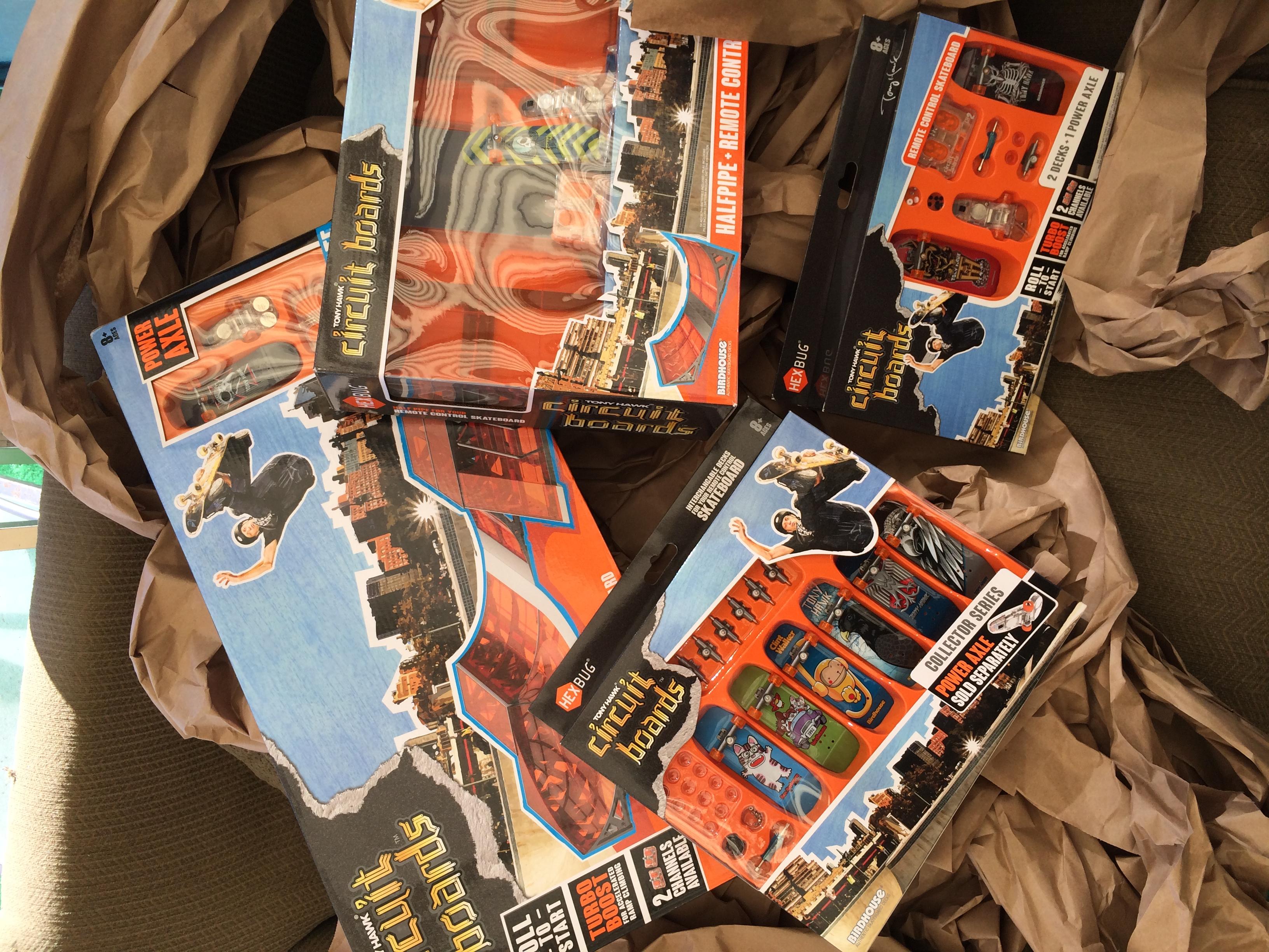 Review Tony Hawk Circuit Boards Remote Control Mini Skateboards Boardbuy Cheap Board Whatd We Get