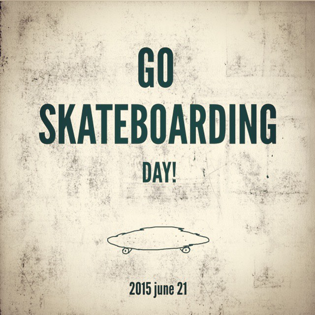 It's National Go Skateboarding day!  See u in the streets!  #goskateboardingday #goskate #goskateday #skate #sk8 #skatelife #skateboardingisfun #skateboards #skateboard #skateboarding #longboard #longboarding #skatelifestyle #longboardlifestyle #skateordie #sk8ordie #whatever #whateverskateboards