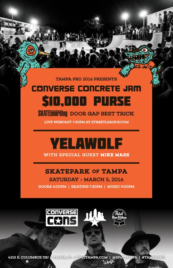 Converse Concrete Jam