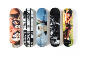 photos on skateboard