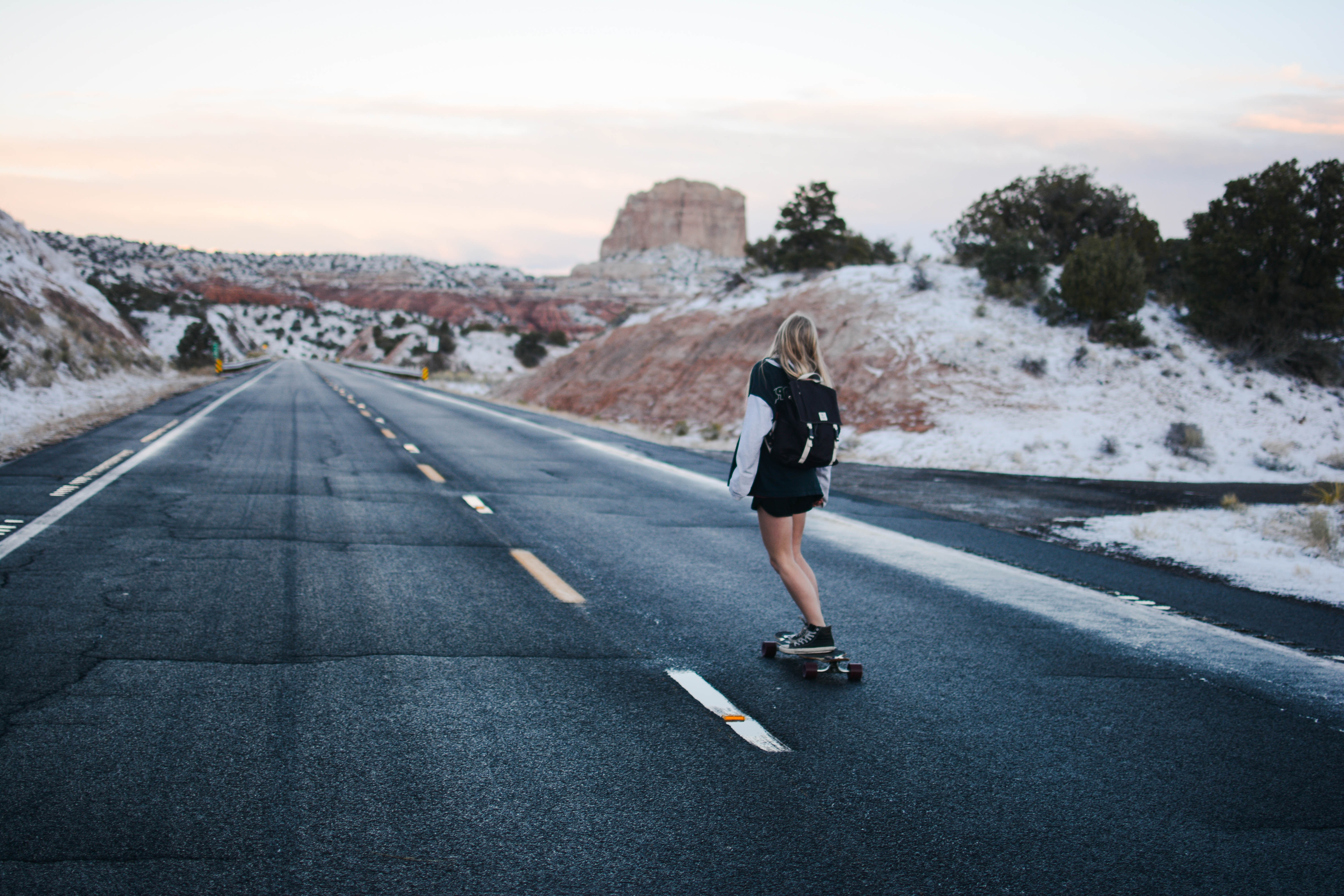Backpack How To Travel With A Longboard