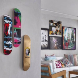 wall art skateboards